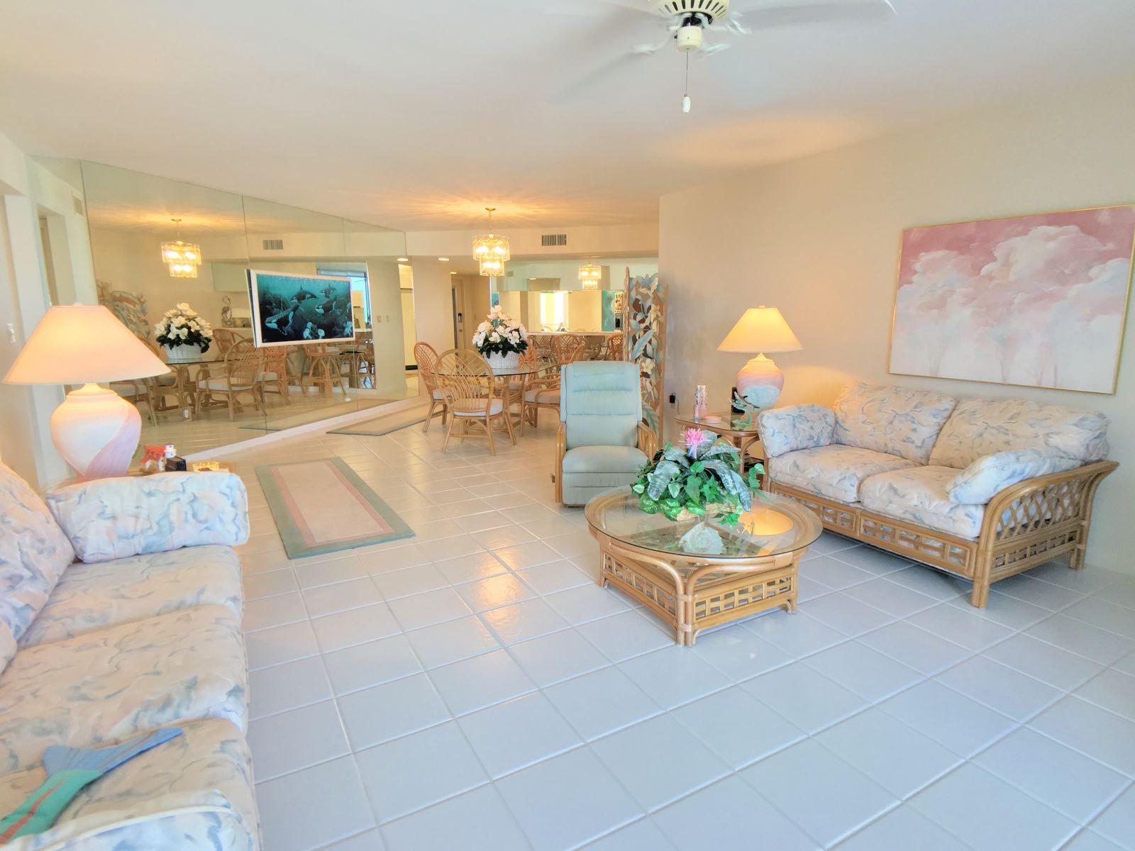 Ocean Harbour M2 Living Room